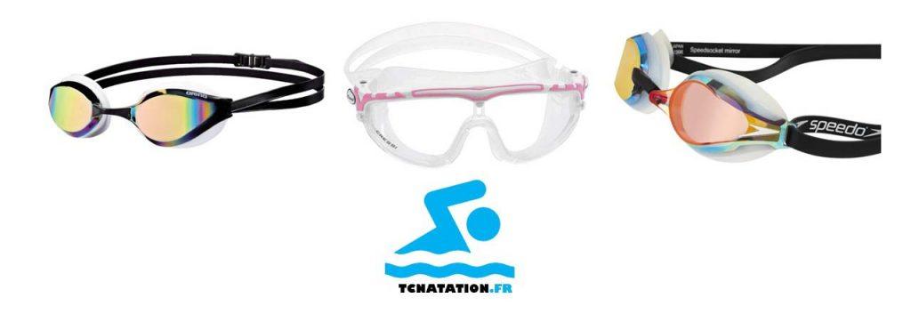 les trois meilleures lunettes de natations