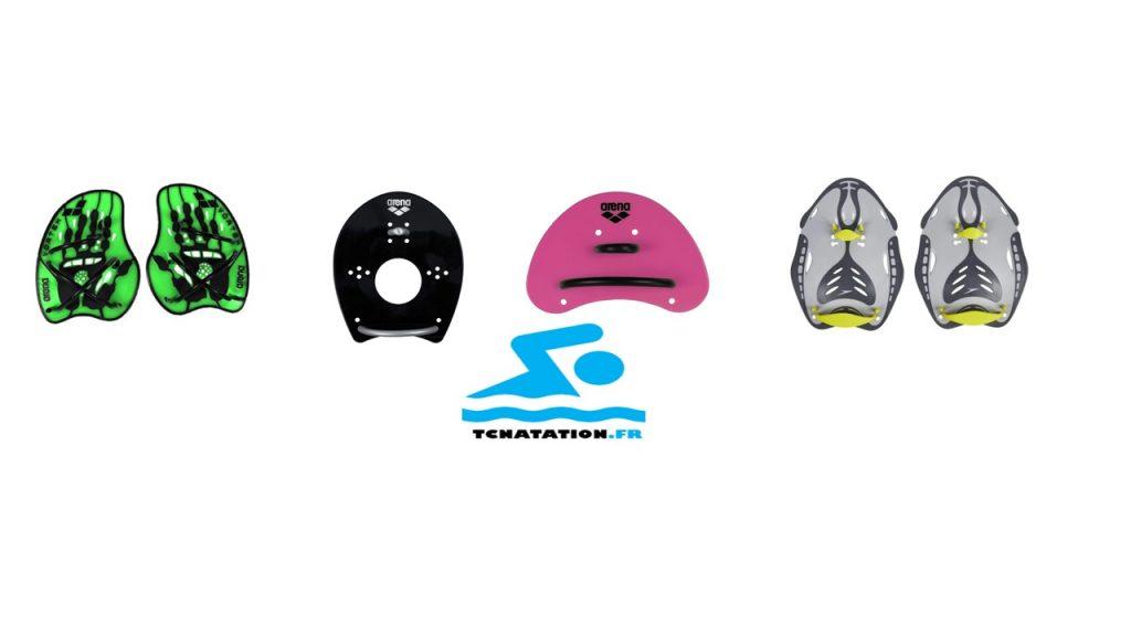 quelques une des meilleures tablettes de natation : Arena Vortex Evolution/ Speedo Biofuse Power /Arena Plaquettes Elite