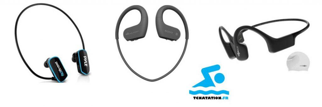 Les meilleurs écouteurs de natation : Walkman Sony NWWS413 Aftershokz Xtrainerz Pyle PSW6BK