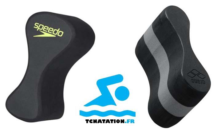 Image de deux Pullbuoy  pour la natation (speedo et arena)