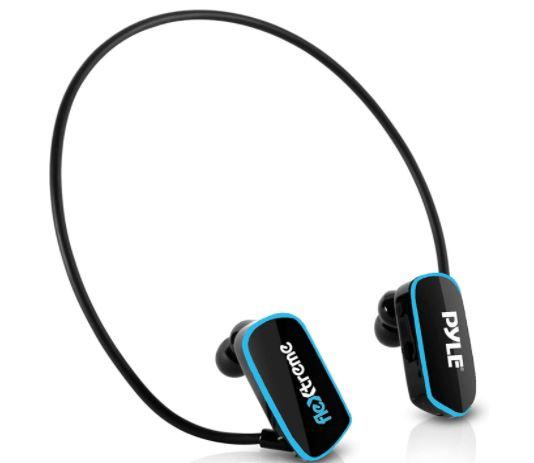 NINI IPX8 /étanche 8 Go de Natation /écouteurs Bluetooth /à Conduction osseuse mont/és sur la t/ête Lecteur de Musique MP3 Son HD sous-Marin Casque de Sport pour la Natation et la plong/ée,Bleu